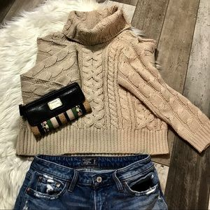 NWOT Knit Turtleneck Sweater